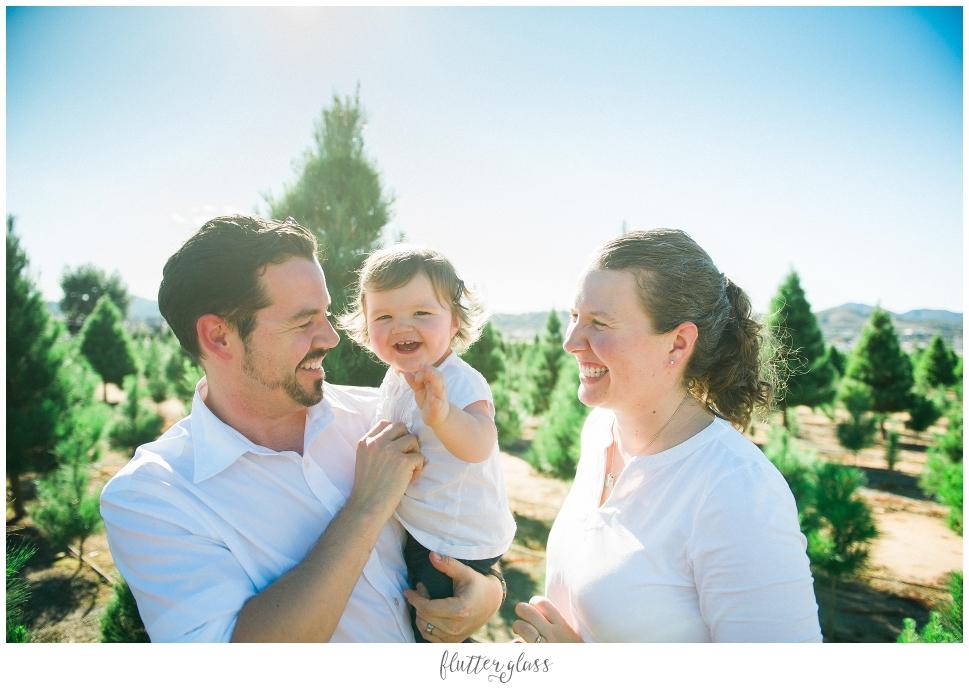 Family Christmas Tree Farm San Diego Holiday Photography