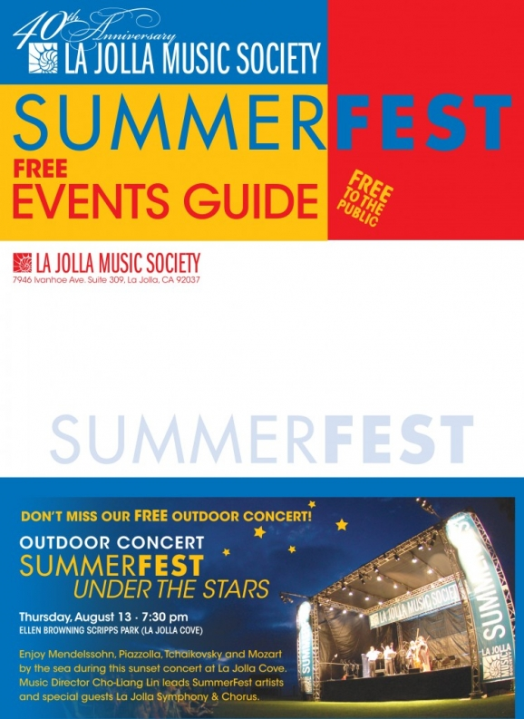 La Jolla Music Society Free Events Guide
