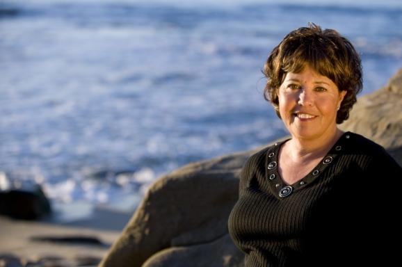 Cindy Palermo Portrait - La Jolla Cove