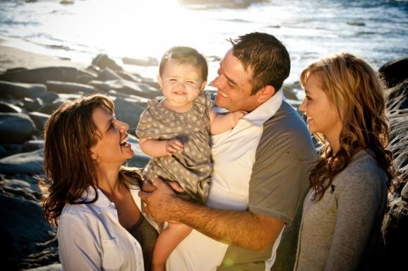 Dorma Family Portraits - Beach at La Jolla