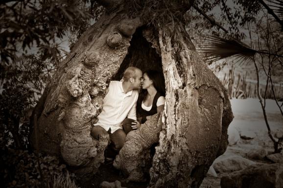 Judit & Ryan - Desert Garden - Balboa Park