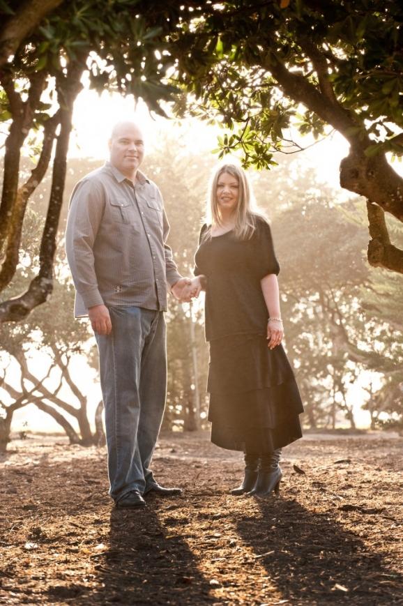 Amy & Marlin Engagement - Ellen Browning Scripps Park