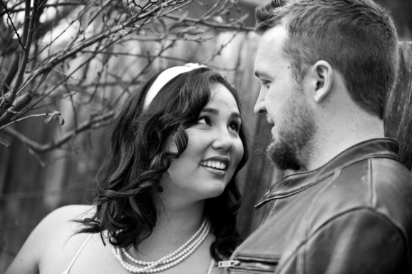 Chandra & Andy Engagement - University Heights