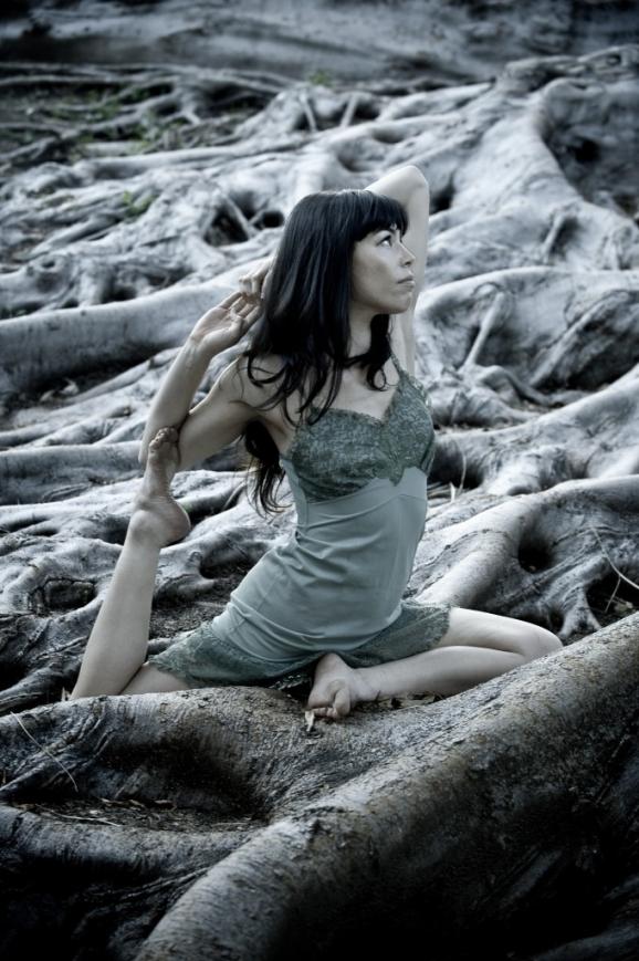 Tria - Yoga Portraits at Balboa Park