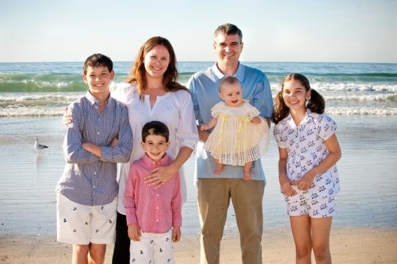 Family Portrait - La Jolla Beach & Tennis Club