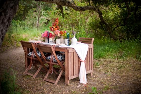 Inspired Creations Contest - Al Fresco California Bohemian Wedding Inspiration
