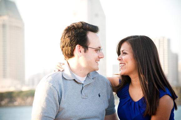 Engagement Shoot - Centennial Park - Coronado, CA