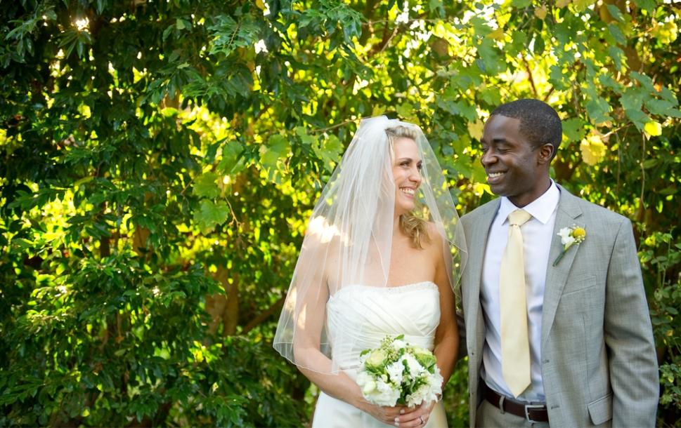 Flutter Glass Photography - Backyard Wedding - San Diego
